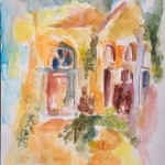 צהרי ירושלים 1  -  30x40